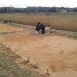 Réalisation de bassins de production : terrassement