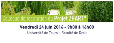 Logo Colloque de restitution ZHART 24062016